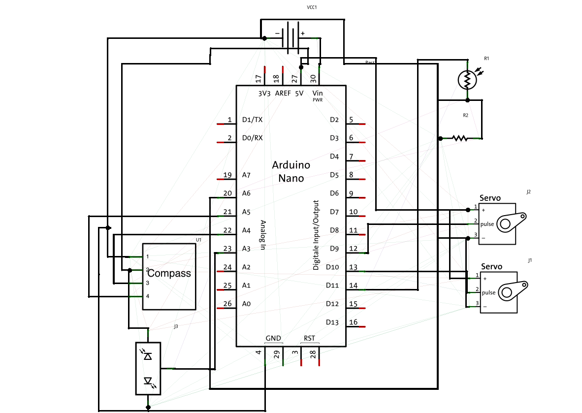 circuit diagram arduino