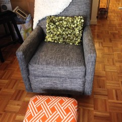 How To Recover Glider Rocking Chair Cushions Alex Arhaus After