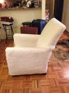 DIY Rocking Chair from Consignment Upholstered Regular