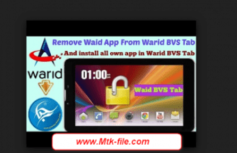 Warid BVS Tab Dual Sim MT6582 E7+_E7.V2.13 Rom Firmware Download
