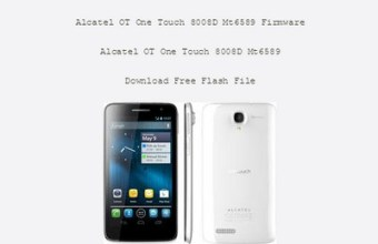 Alcatel 8008D MT6589 Firmware Flash File 100% Tested