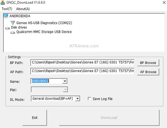 GNQC Download Tool