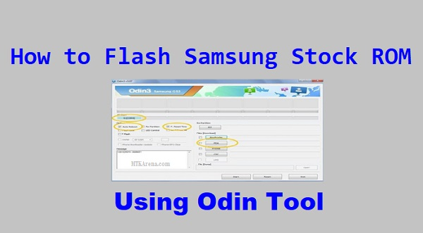 How to Flash Samsung Stock ROM Using Odin tool