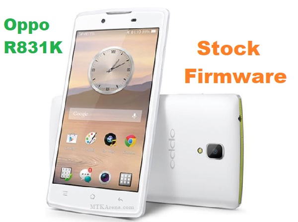 Oppo R831K Stock Firmware (Neo 3 Official) Free Download