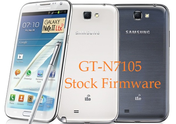 Samsung Galaxy Note 2 LTE GT-N7105 Stock Firmware