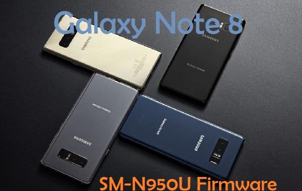 Samsung Galaxy Note 8 SM-N950U Firmware