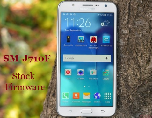 Samsung Galaxy J7 2016 SM-J710F Stock Firmware Download