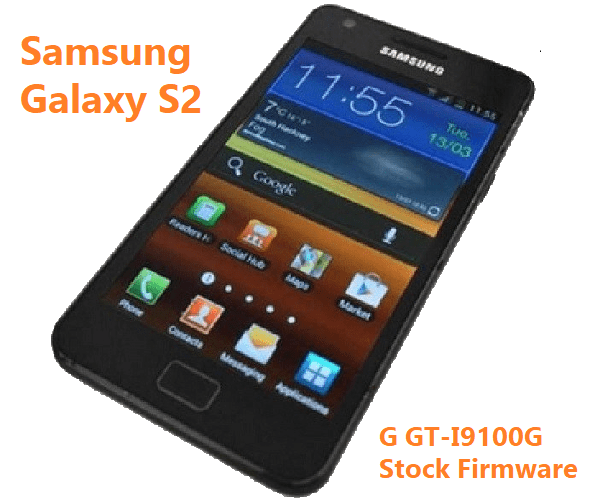 Samsung Galaxy S2 G GT-I9100G Stock Firmware Download
