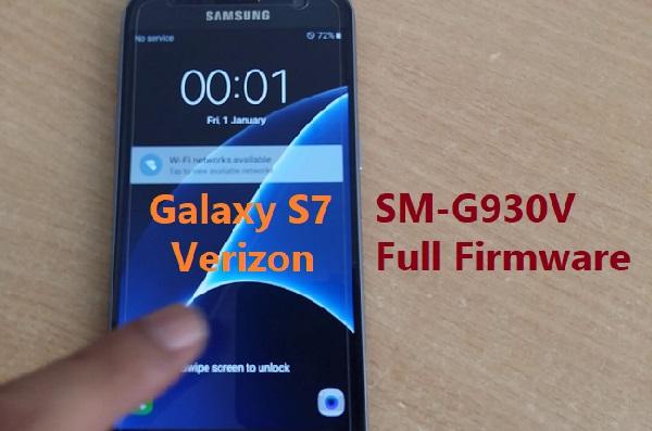 Samsung Galaxy S7 Verizon SM-G930V Full Firmware Download