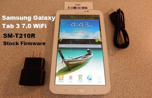 Samsung Galaxy Tab 3 7.0 WiFi SM-T210R Stock Firmware Download