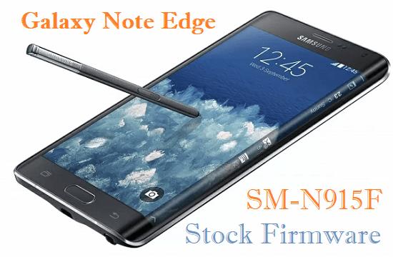Samsung Galaxy Note Edge SM-N915F Stock Firmware