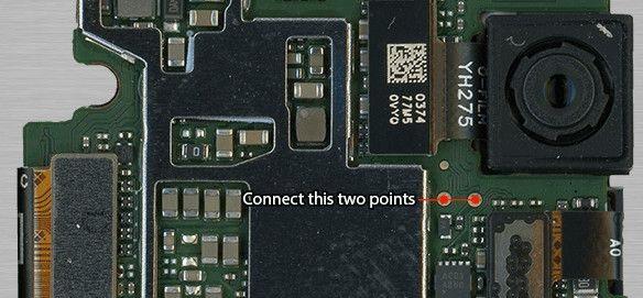 Xiaomi MI 5X Test Point For EDL Mode
