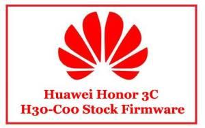 Huawei Honor 3C H30-C00 Stock Firmware