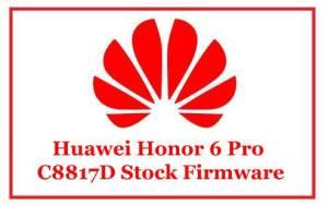 Huawei Honor 6 Pro C8817D Stock Firmware