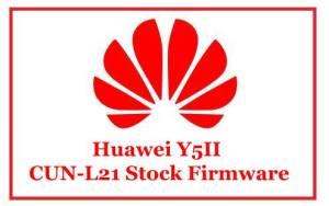 Huawei Y5II CUN-L21 Stock Firmware