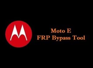 Motorola Moto E FRP Bypass Tool - Unlock Google Account