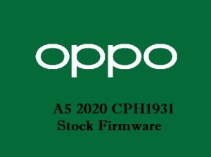 Oppo A5 2020 CPH1931 Stock Firmware Download
