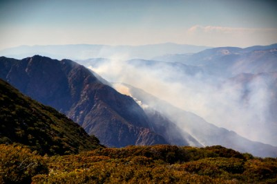 Chariot Canyon Fire Jul 7.