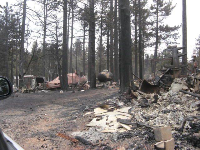 Shrine Camp devastation.