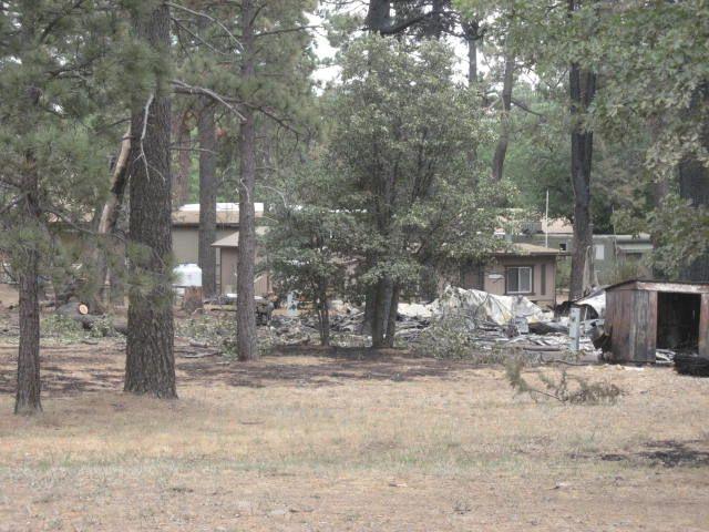 Some Shrine Camp buildings safe.