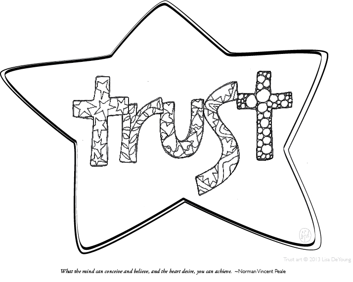 Coloring Pages Trust Chain Link Coloring Pages