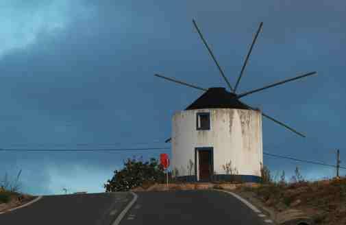 An Obidos Windmill