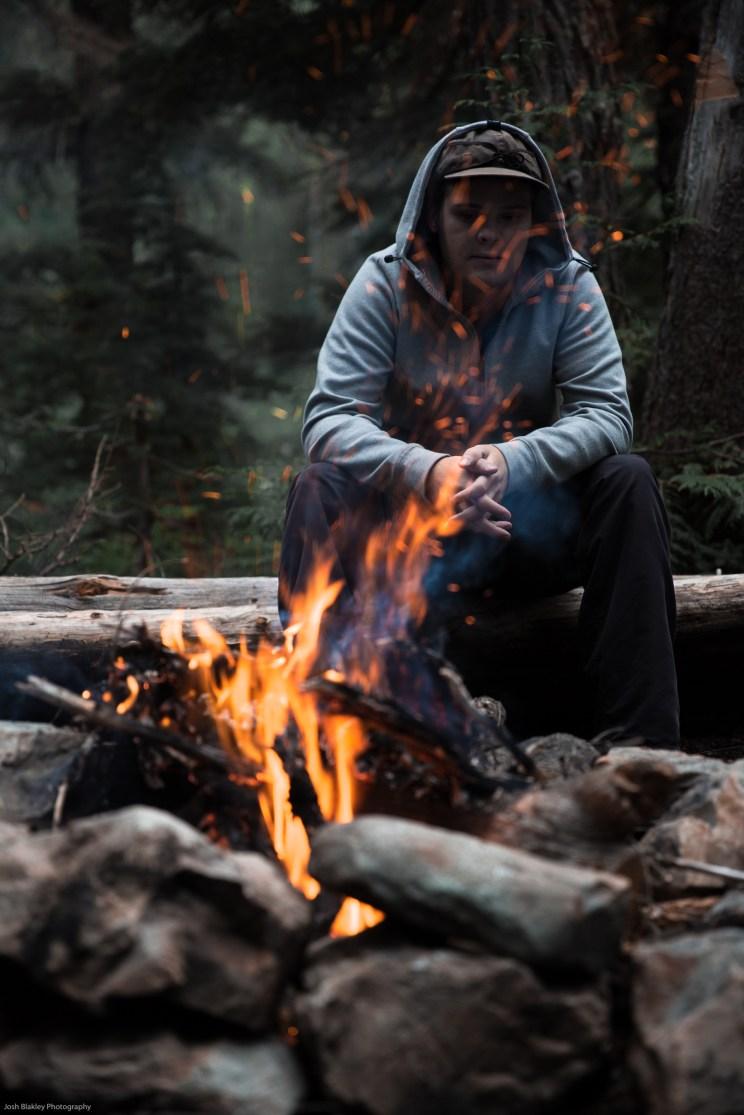 hazel and hub lake camping