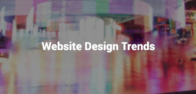 web design trend
