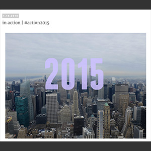 Action 2015 Blog Post