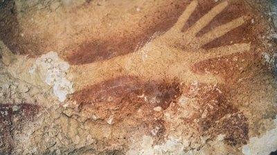Höhlenkunst auf Sulawesi zählt zu frühesten Abbildungen
