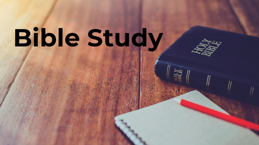 Mt Pleasant Baptist Church Bible Study