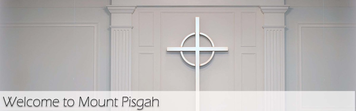 Visitor Header. Welcome to Mount Pisgah