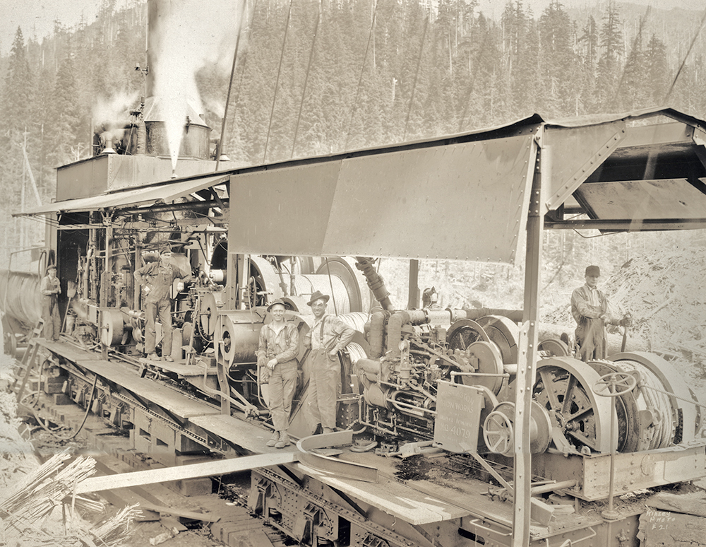 kinsey5 Westfork Logging CO Mineral WA sept-1928