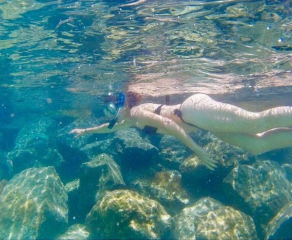 mtraining snorkel lanzarote