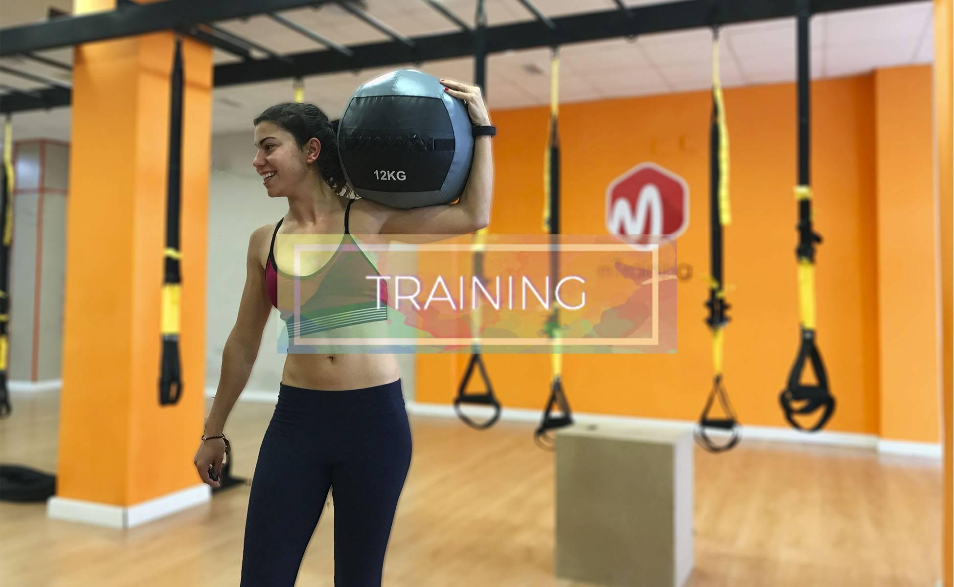Training Minerva Caamaño mTraining