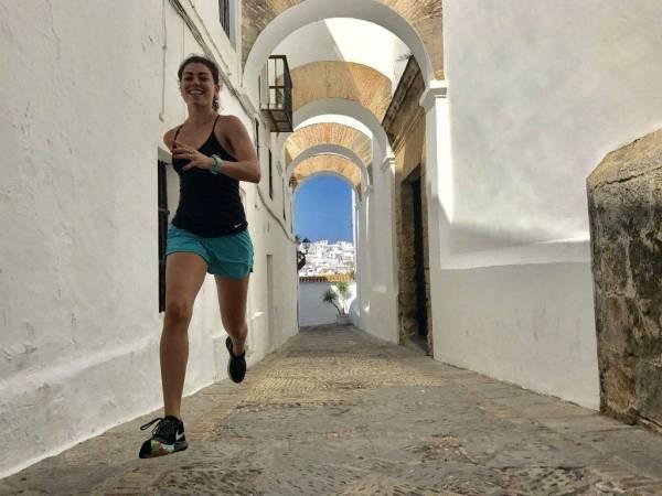 Carrera running Vejer de la Frontera
