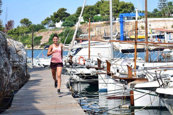 running Ciutadela Menorca mTraining Minerva