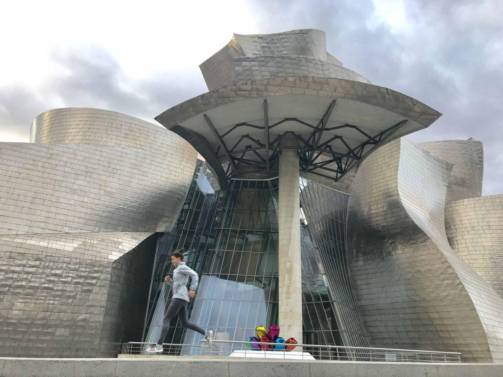 running Bilbao Guggenheim