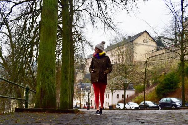 walking caminar Luxemburgo