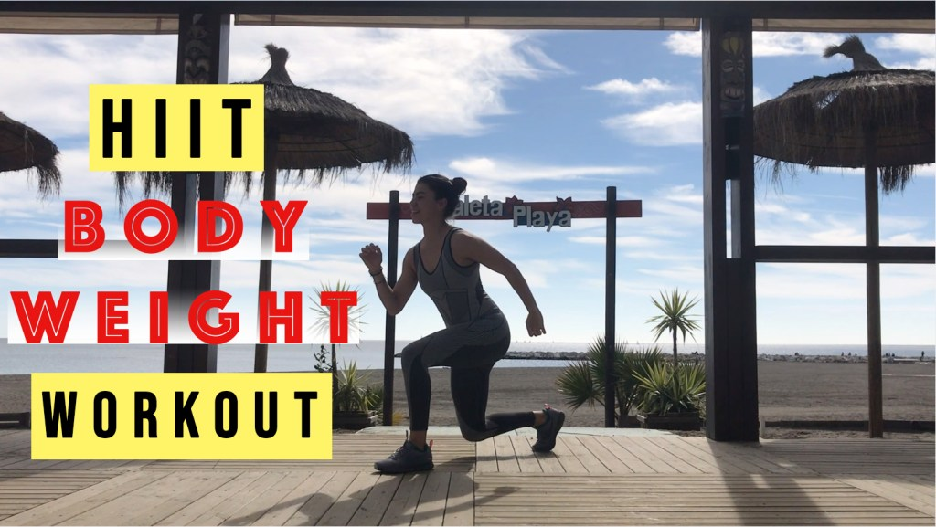mTraining HIIT body weight workout
