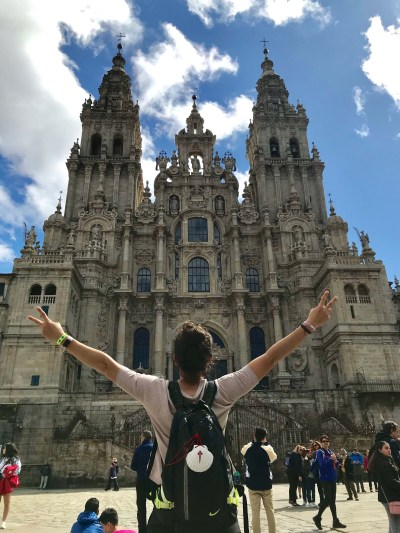 fin del camino de santiago catedral