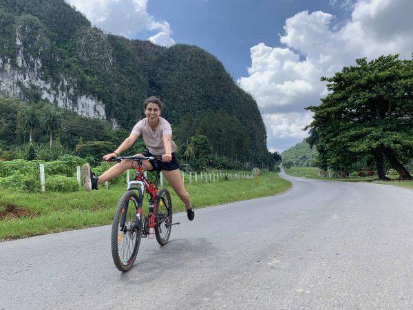Ruta en Bicicleta por Viñales, bici en cuba