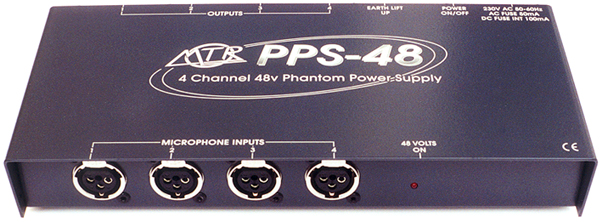 4 Channel And 2 Channel 48v Phantom