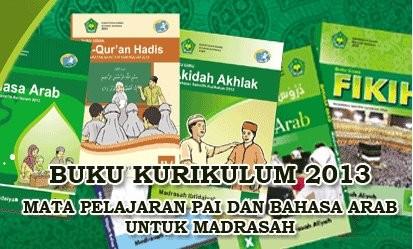 Buku PAI dan Bahasa Arab Kurikulum 2013 untuk Madrasah