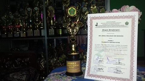 Tsabiwa Juara 1 Tilawatil Quran Putri di Ligarda III Se Lotim