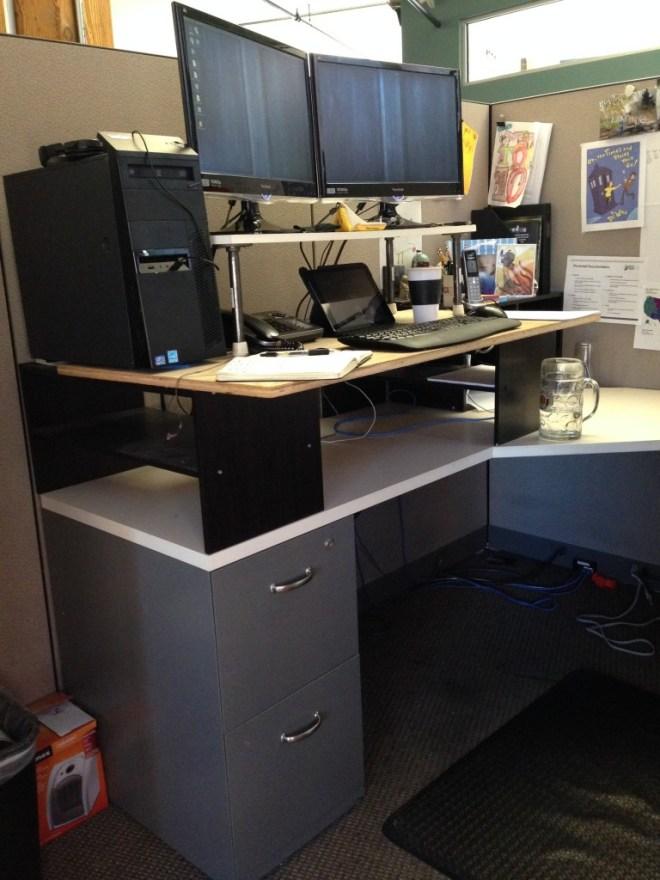 My DIY Standing Desk Setup