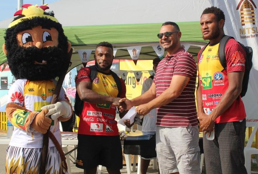 MTSL Backs PNG SP Hunters