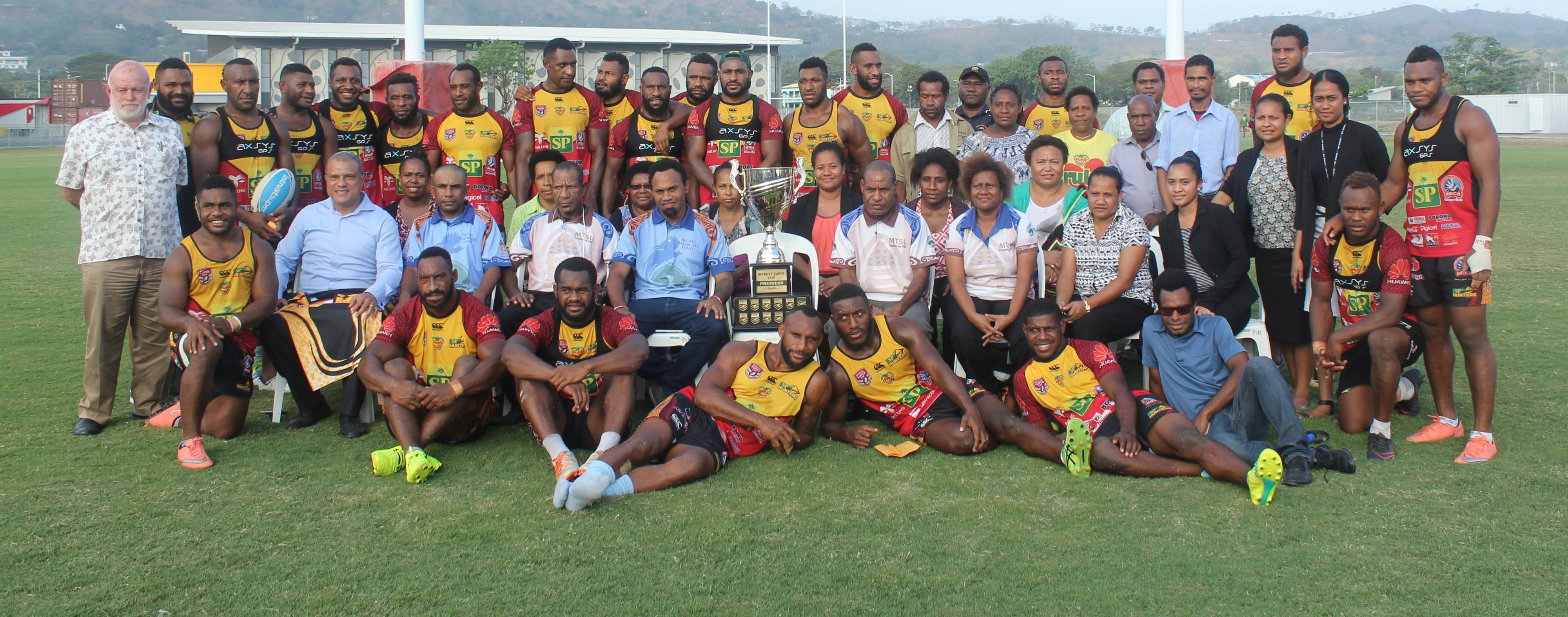 Hunters wrap up 2017 Intrust Super Cup
