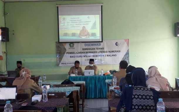 Diseminasi Bimbingan Teknis Pembelajaran Berbasis Literasi dan Numerasi