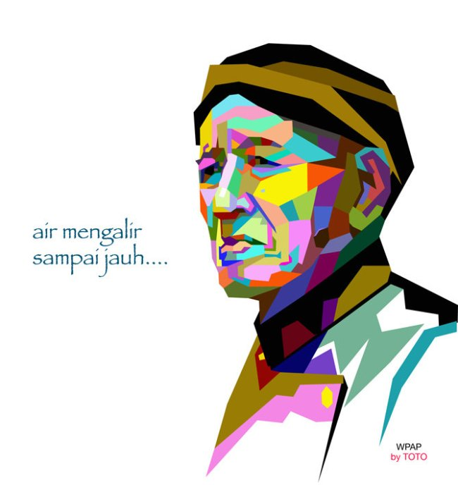Aliran Pop Art  Nasrul Md Zalan